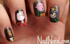 The Ricky Gervais Show 'Karl Pilkington/Stephen Merchant/Ricky Gervais/Monkey News' Nails