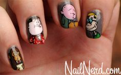 The Ricky Gervais Show 'Karl Pilkington/Stephen Merchant/Ricky Gervais/Monkey News' Nails