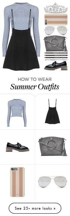 "Summer Outfits : ""Yoins: Cropped Sweaters"" by loveyoins on Polyvore featuring Nasty Gal"