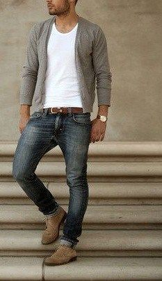 9 different ways to rock the cardigan look and look irresistible. #men style