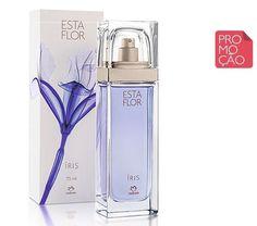 Deo Parfum Esta Flor Íris Feminino - 75ml