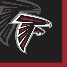 NFL - Atlanta Falcons Beverage Paper Napkins 16-count