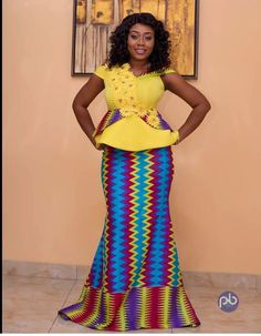 2818 meilleures images du tableau Robe pagne en 2019   African wear,  African attire et African dress e20201a3bc1