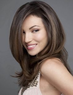 gorgeous layered hair- don't we all wish our hair would behave like this!!