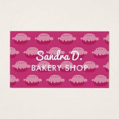 #template - #Custom bakery shop business card template design