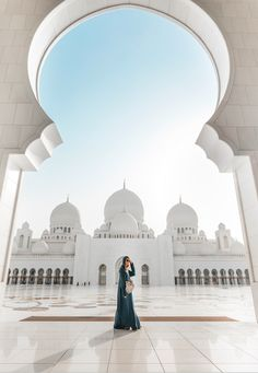 The Sheikh Zayed Grand Mosque in Abu Dhabi - what an incredible building.