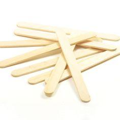 100 93 mm Small Natural Wooden Lollipop Sticks for Lollipops/Crafts