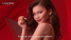 Zendaya for Lancome L'absolu rouge ruby cream lipstick 2019 #zendaya #lancome Zendaya Maree Stoermer Coleman, Lancome Paris, Face Claims, Lipstick, Cream, Red, Creme Caramel, Lipsticks