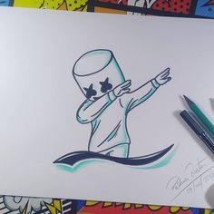 DJ Mashmello step by step Video de ho … DJ Mashmello step by step Today's video for the Canal ARTE E CIA BRASIL Look at it ! (That , , , The post DJ Mashmello step by step Video de ho …… appeared first on Best Pins for Yours - Drawing Ideas Easy Pencil Drawings, Cool Art Drawings, Cartoon Drawings, Drawing Sketches, Drawing Tips, Drawing Ideas, Drawing Drawing, Simple Drawing Designs, Cartoon Art