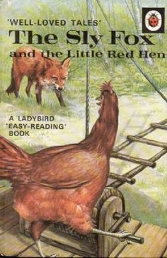 SLY FOX & THE LITTLE RED HEN Vintage Ladybird Book Well Loved Tales