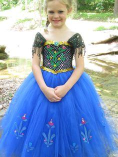 Anna costume Frozen costume Frozen dress Anna door TheCreatorsTouch