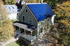 Michigan net zero solar house