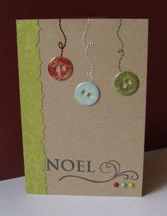 Scrap : Carte de voeux / Noel