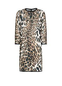 Leopard print flowing dress - Woman. CocodriloGuardarropasMis 15Septiembre AnochecerFemeninoComprasTendenciasFiestas 94c9157c3ad7