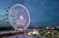 Firefighters Rescuing Riders Stuck for Hours on the Orlando Eye