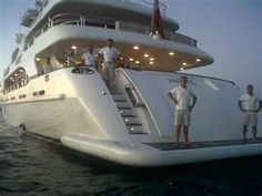 my yacht....oh yeah