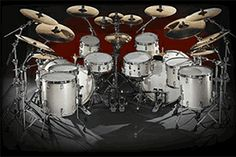 An acoustic Masterworks drums set is the best way to chill out