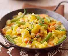 Vegetable and Chickpea Curry
