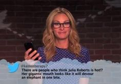 Julia Roberts, Don Cheadle, other celebs read angry tweets from fans on 'Jimmy Kimmel Live!'