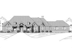 Country House Plan chp-35037 at COOLhouseplans.com