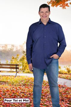 Chemise longue manche pour homme grande taille #classe #tendance #fort #mode #men Sweat Shirt, Blazer, Shirt Dress, Mens Tops, Shirts, Dresses, Fashion, Plus Sized Clothing, Mens Big And Tall