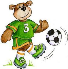 osos haciendo deporte para imprimir