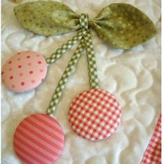 Sewing with Mom   Fabric Covered Button  1 /& 1//2 inch