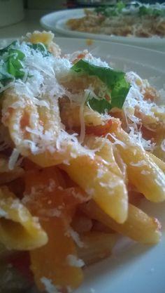 #pasta #parmeasan #tomato sauce