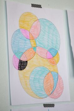 easy circle drawings - fun for kids to color! - It's Always Autumn