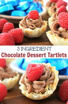 Check out this easy chocolate dessert recipe and impress your guests! Easy Chocolate Desserts, Mini Desserts, Easy Desserts, Delicious Desserts, Sweet Desserts, Dessert Simple, Yummy Snacks, Snack Recipes, Dessert Recipes