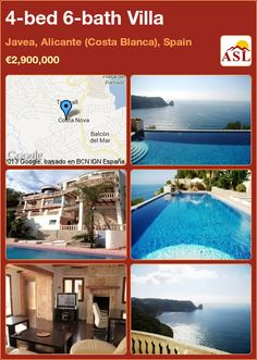 4-bed 6-bath Villa in Javea, Alicante (Costa Blanca), Spain ►€2,900,000 #PropertyForSaleInSpain