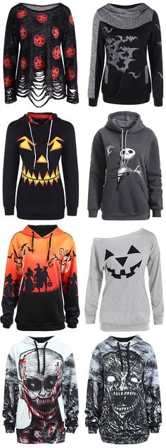 halloween hoodies for women this winter