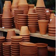 Clay Pot Craft Ideas - how to paint terra cotta #terracotta