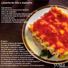Lasanha de tofu