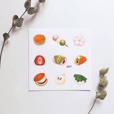 Photo Ink Illustrations, Pencil Illustration, Watercolor Illustration, Amazing Drawings, Colorful Drawings, Cute Drawings, Watercolor Food, Watercolor Artwork, Watercolour