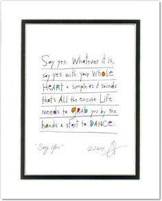 Say Yes Prints (contemporary)