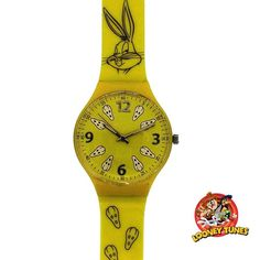 Ceas de copii Bugs Bunny Looney Tunes LN40Caracteristici produs:Model: LN40Stil: Casual-SportMecanism: QuartzDisplay: AnalogRezistenta la apa: 21-50 mGarantie: 2 aniForma carcasa: RotundaDimensiune caracasa: 36 mmGrosime carcasa: 6 mmMaterial curea: PlasticSistem inchidere: Catarama standardProducator: Looney TunesCeas de copii Bugs Bunny Looney Tunes LN40