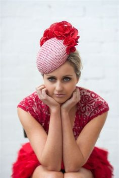 2013 Spring Collection Millinery hat by rebecca share MILLINER Facinator Hats, Sinamay Hats, Millinery Hats, Fascinators, Headpieces, Spring Racing Carnival, Crazy Hats, Races Fashion, Fancy Hats