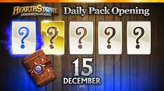 1 Golden & 1 Rare Hearthstone Cards! #Hearthstone #Packs Opening Daily, ...