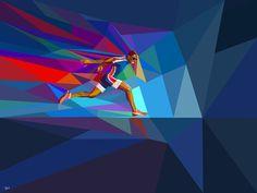 Yahoo! 2012 Games Coverage by Charis Tsevis, via Behance