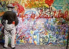 Life Is Beautiful Grafitti Street Art Pop Art Canvas Print Mr Brainwash | eBay