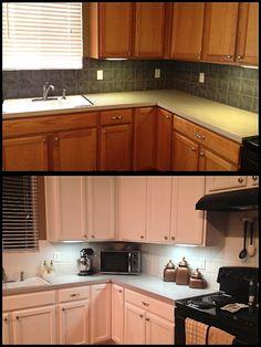 Cheap kitchen facelift