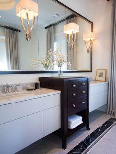 An Atlanta Transitional Painted Ivory Bath. ARCHITECT: William T. Baker And  Associates. Cabinet CompaniesBathroomsMaster ...
