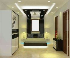 Marvelous Krishna 2 · Bedroom ModernMaster BedroomsCeiling DesignKrishnaCeilings InteriorPlaster
