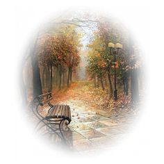 tubes paysages ❤ liked on Polyvore featuring backgrounds, tubes, autumn, art, landscape et fillers