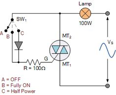 Modified Triac Switching Circuit