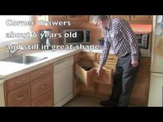 If you're handy, make your own corner drawers. | 27 Lifehacks For Your Tiny Kitchen