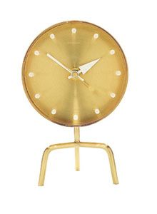 Tripod Table Clock - George Nelson, Vitra
