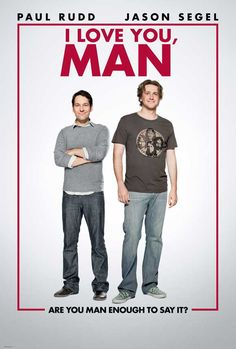 I Love You, Man 27x40 Movie Poster (2009)