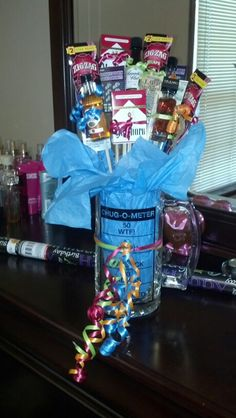 Liquor bouquet basket 21st birthday for him DIY projects to try